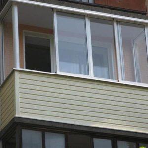 Застеклить балкон в Черкассах