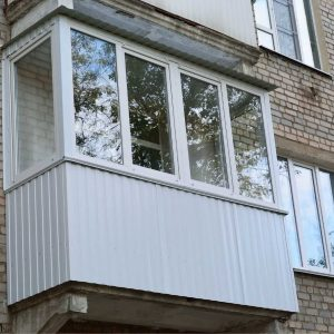 Установленный балкон по ул. Мытницкой Черкассы