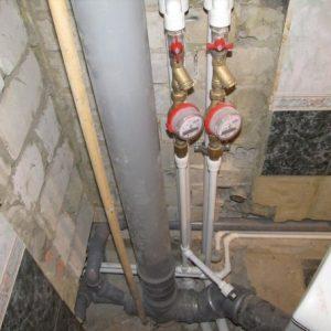 установка счетчиков воды в Черкассах